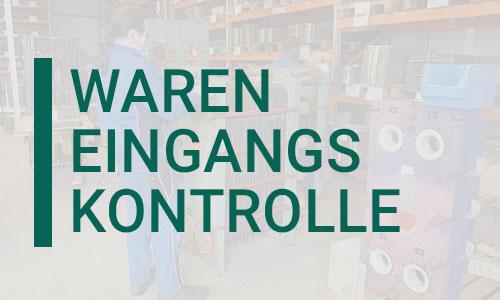 Rekonditionierung | Wareneingangskontrolle